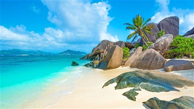 Top 10 Clear Water Beaches - Anse Coco Beach, La Digue, Seychelles