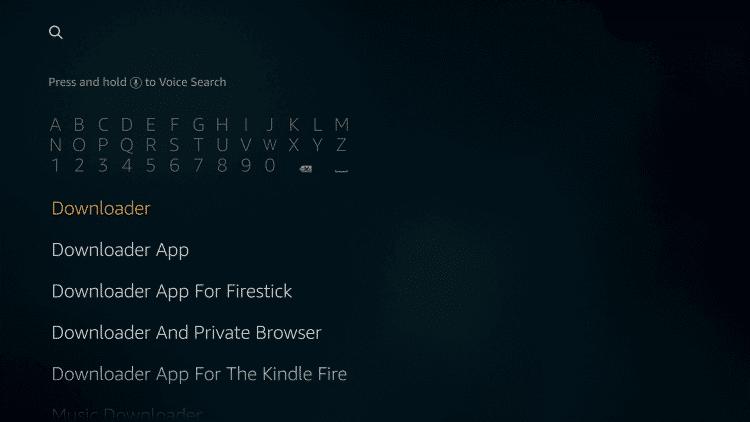 Type Downloader