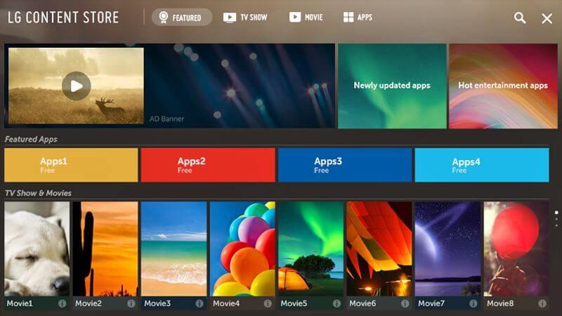 Smart IPTV on LG Smart TV