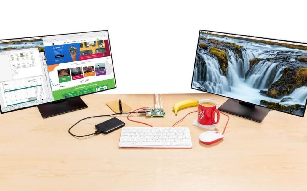 Raspberry Pi 4 Dual 4K Display
