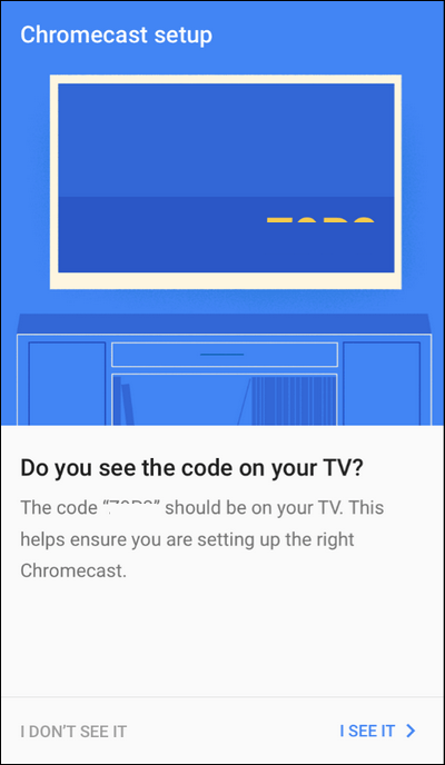 Find Code on TV