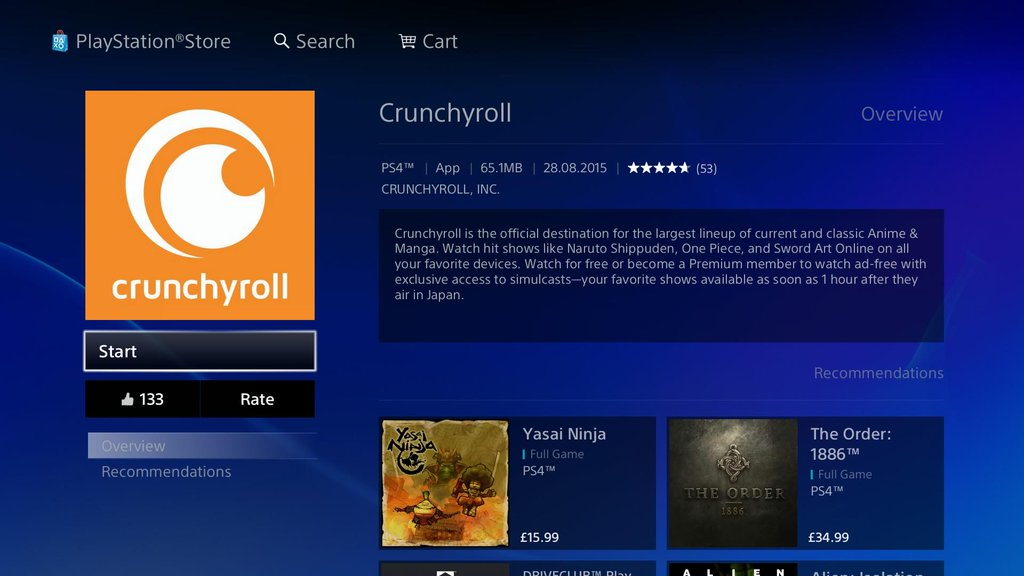 How to install Crunchyroll on PS3/PS4?