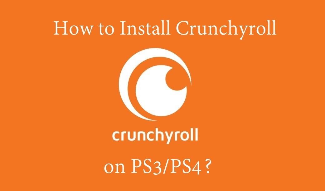 Crunchyroll on PS3/PS4