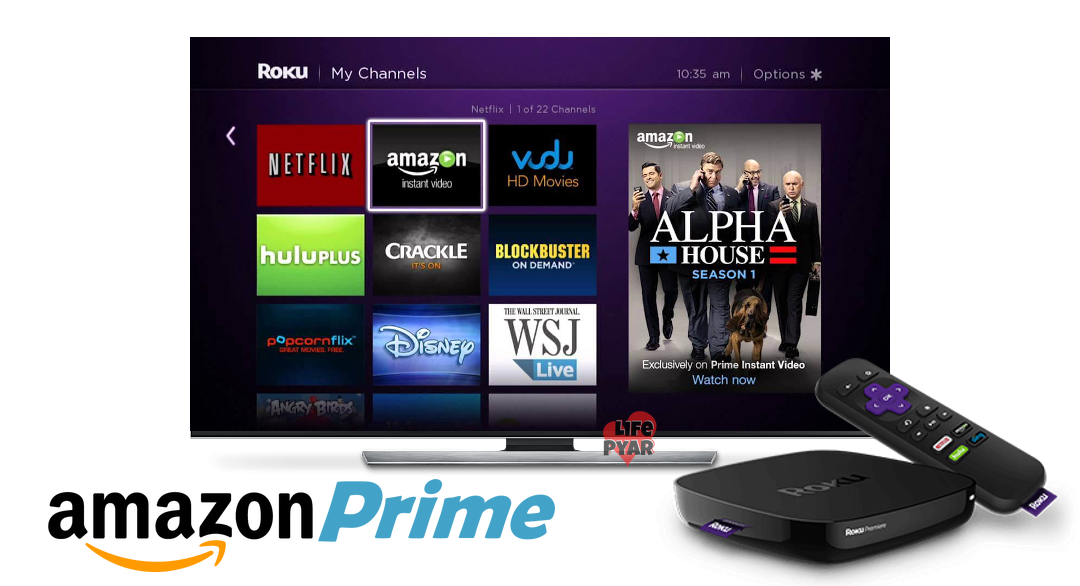 How to Install and Setup Amazon Prime Video on Roku