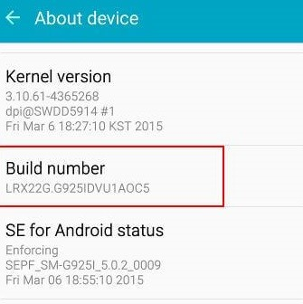 Enable USB Debugging on Android devices