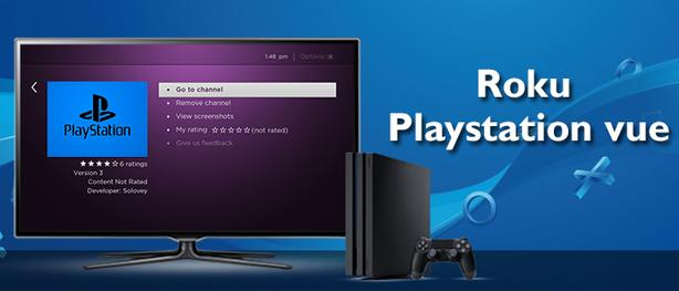 How to install PlayStation Vue on Roku [2021]